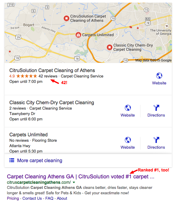 carpet cleaning athens ga Google Search