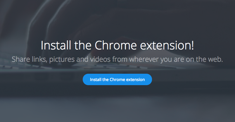 Install the Chrome Extension