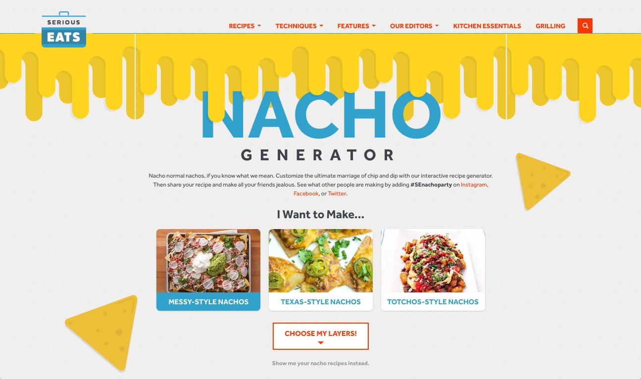 Nacho Generator